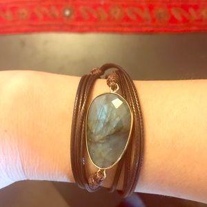Jewelry - Labradorite wrap bracelet